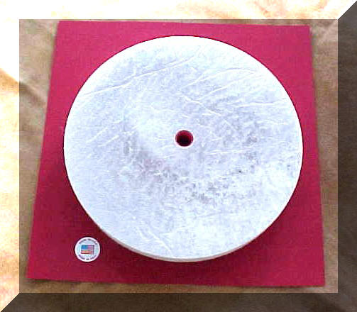 Hard Felt Honuing Wheel 10 inch